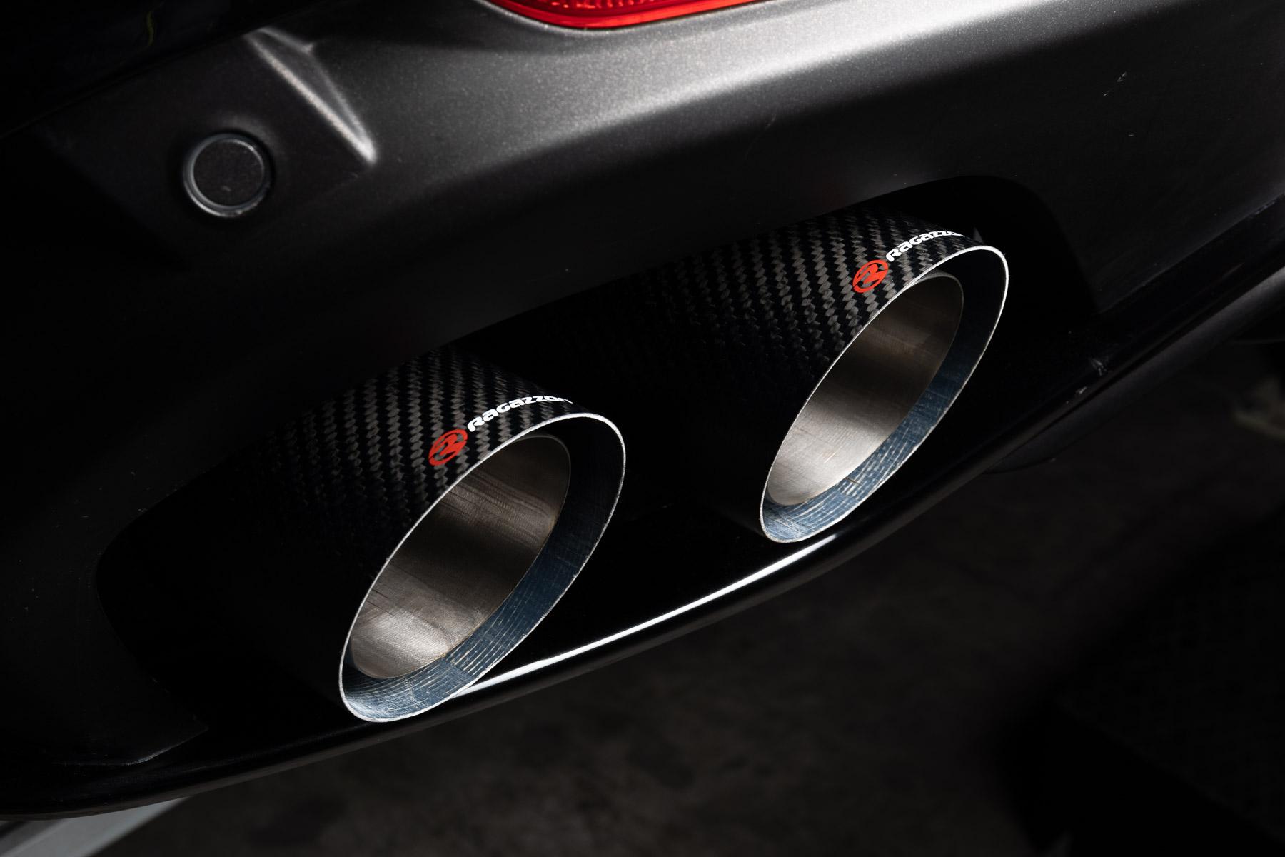 Alfa Romeo Stelvio Quadrifoglio exhaust